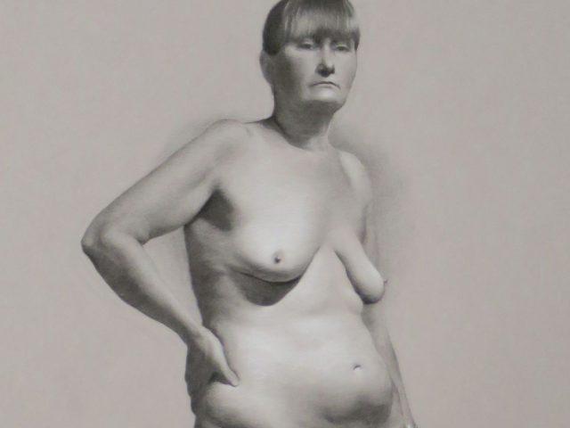 Modellstudie av Cathrine