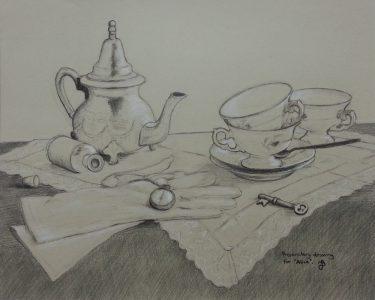 Alice preperaory drawing webb