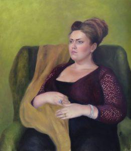 Porträtt av Sara