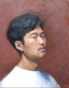 Porträtt av Jacky