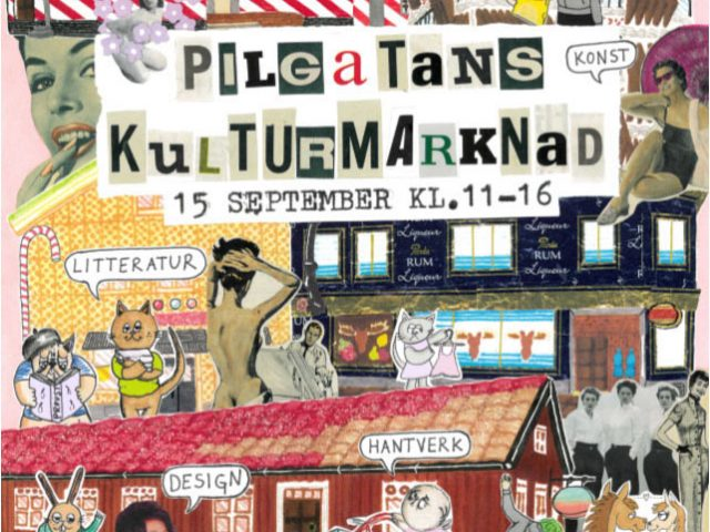 Pilgatans Kulturmarknad 15/9 2018